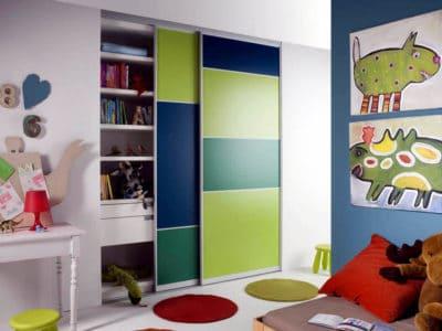 Шкаф-Купе в Детскую комнату 2 двери
