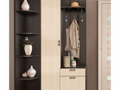 Распашной Шкаф+Вешалка для Одежды